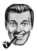 "Slacking Towards Bethlehem: JR ""Bob"" Dobbs & the Church of the Subgenius Mobile Logo"